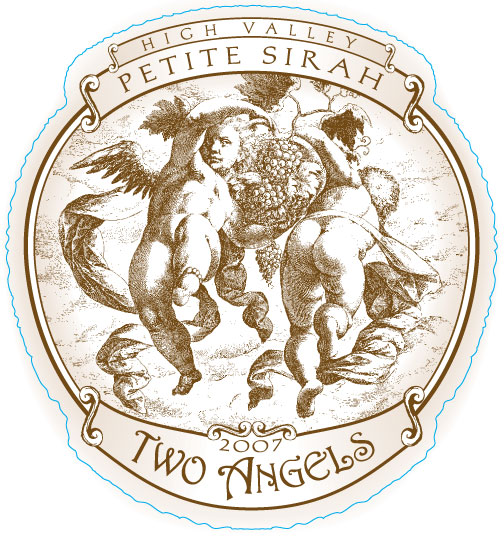 Two Angels Petite Sirah