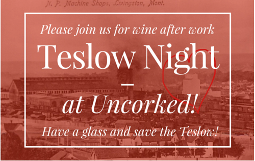 Teslow Night at Uncorked
